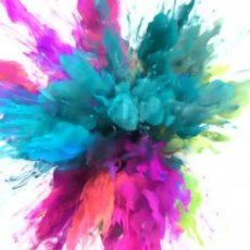 Experiências coloridas para fazer em casa com as crianças