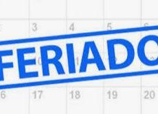 Aviso: Feriado Nossa Senhora Aparecida – 12/10/2020